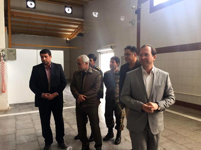 بازدید امیر سرتیپ فیروزیان و هیات همراه ارتش نزاجا و پشتیبانی ۵ خراسان-۱